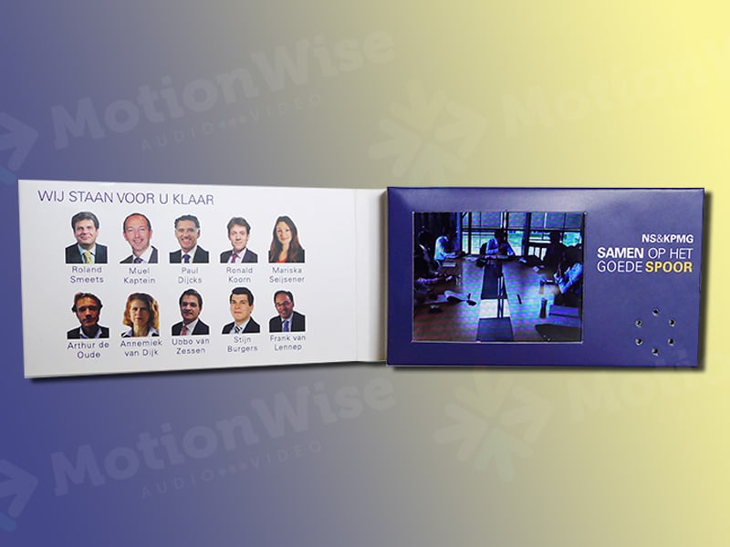Video Business card KPMG