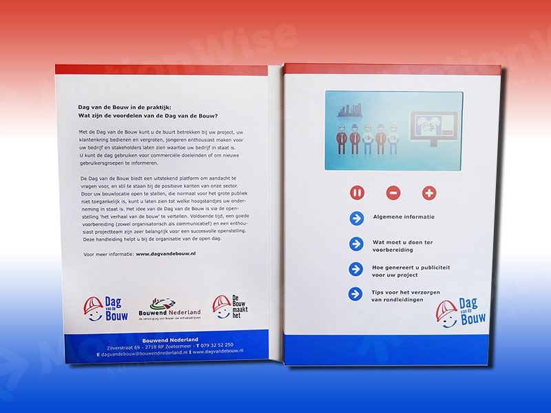 Video brochure Dag van de bouw