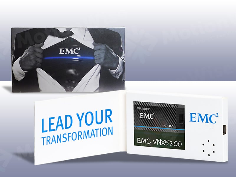 Video business card EMC