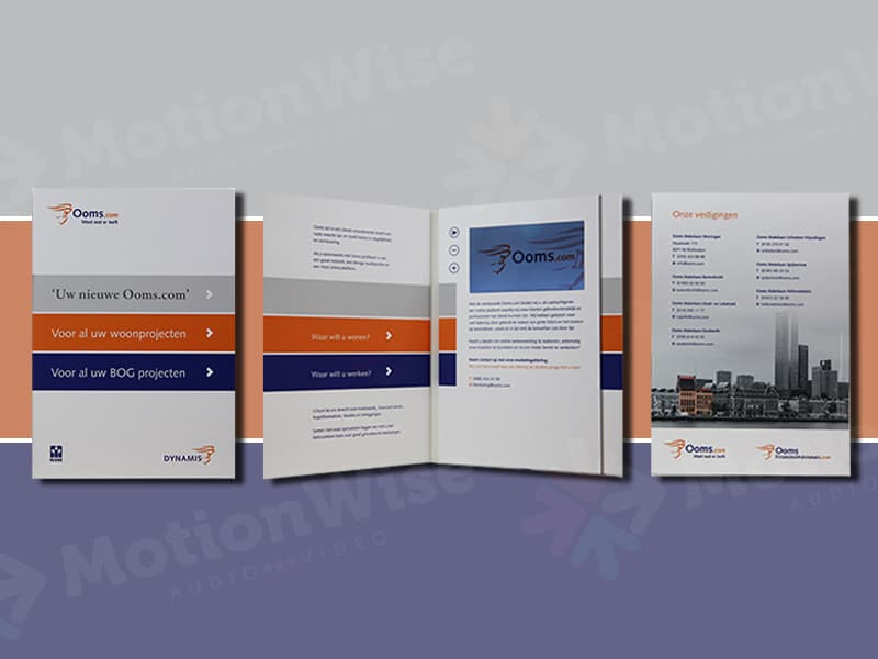 Video brochure Ooms