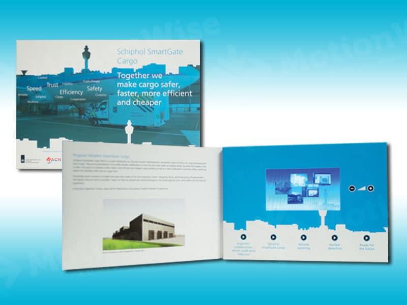 Video brochure Schiphol