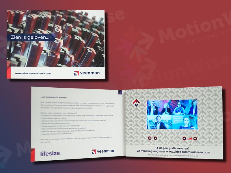 Video brochure Veenman
