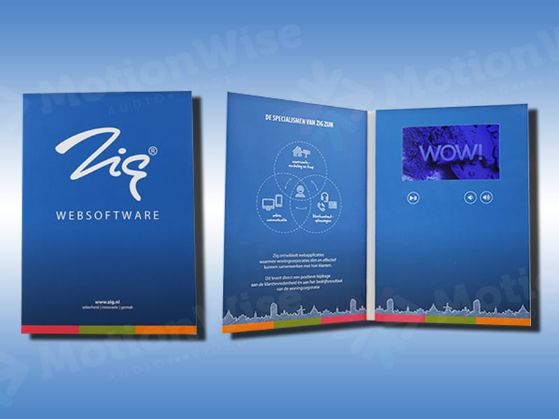 Video brochure Zig websoftware