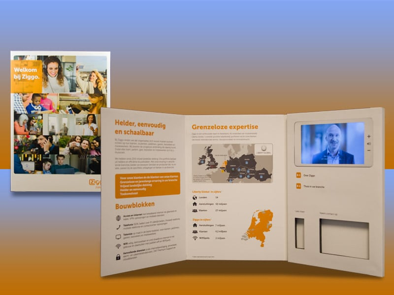 Video brochure Ziggo