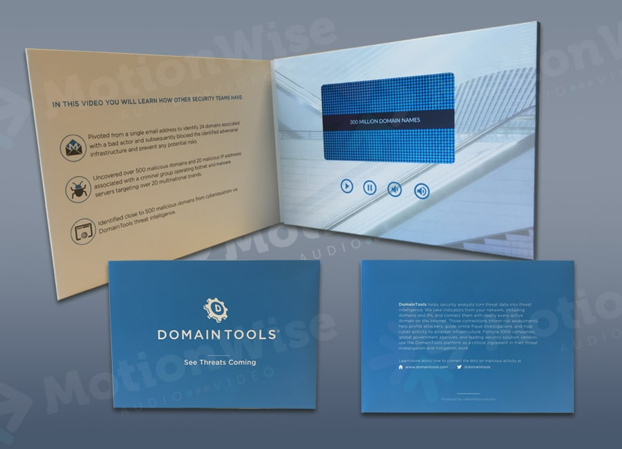 Video brochure Domaintools